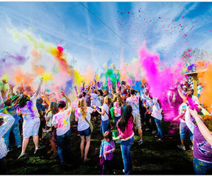 colors and party image