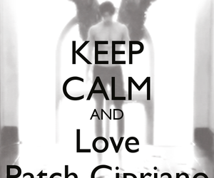 hush hush, keep calm, and patch image