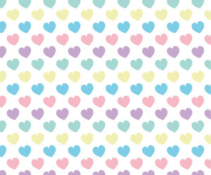 amor, color, and corazones image