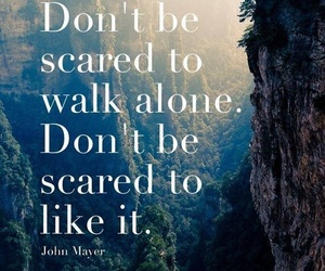 quotes, alone, and john mayer image
