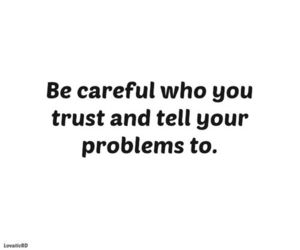 quote, trust, and problems image