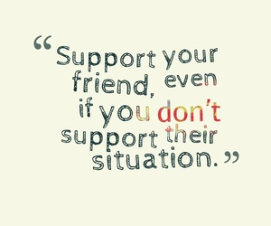 friends, support, and situation image
