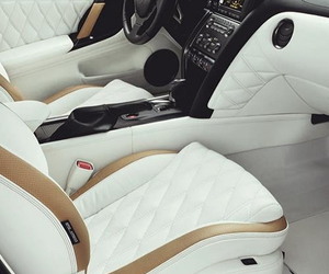 car and white image