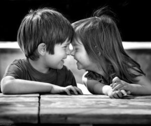 love, cute, and kids image