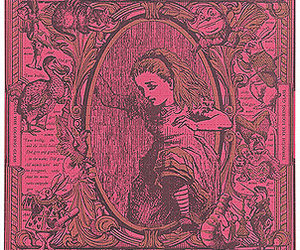 alice in wonderland, alice, and pink image