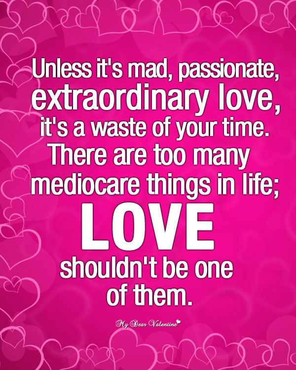 Passionate love - Love Picture Quotes on We Heart It