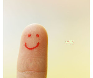 smile and fingers image