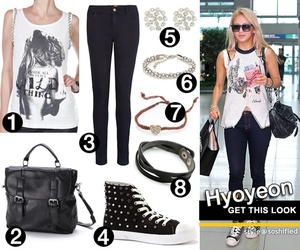 fashion, skinny jeans, and snsd image
