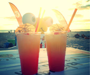beach, Cocktails, and latvia image
