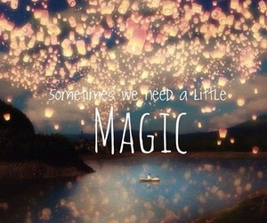 magic, light, and quotes image