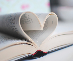 books, nice, and heart image
