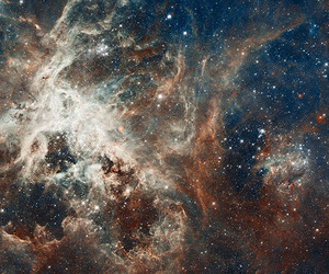 nature, space, and stars image
