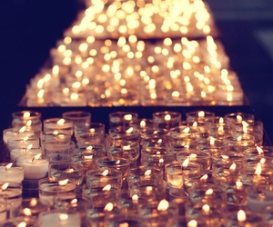light, candle, and photography image