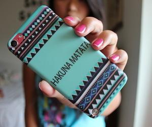 case, hakuna matata, and iphone image