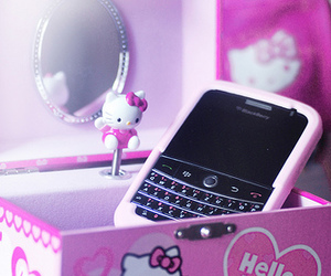 blackberry, hello kitty, and HK image