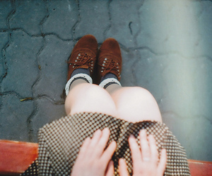 film, hands, and legs image