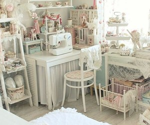 bedroom, home, and lace image