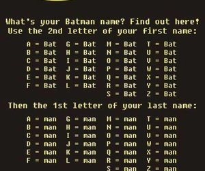 batman, funny, and name image