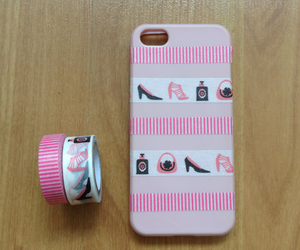 diy, girly, and washi tape image