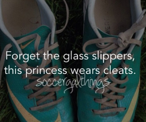 soccer, princess, and cleats image