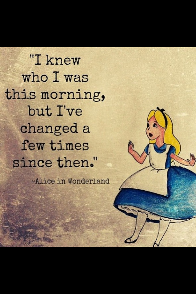 Alice In Wonderland Quote Uploaded By Autumnw