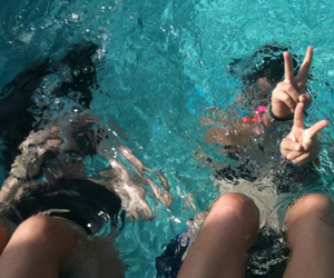 summer, water, and girl image