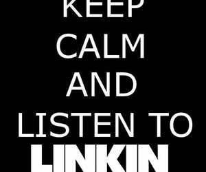 linkin park, music, and keep calm image