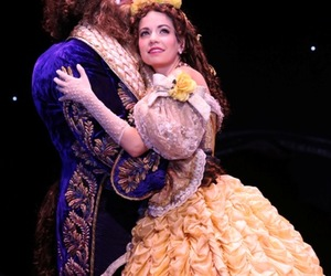 beauty and the beast, belle, and broadway image