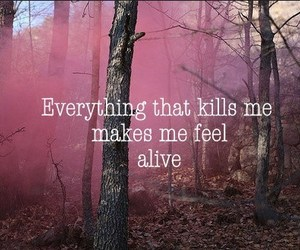 alive, kill, and pink image