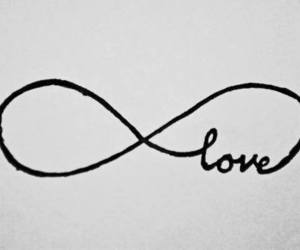 love, infinity, and infinite image