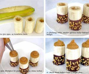 banana, food, and chocolate image