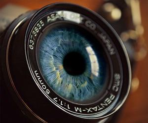camera, eye, and eyes image