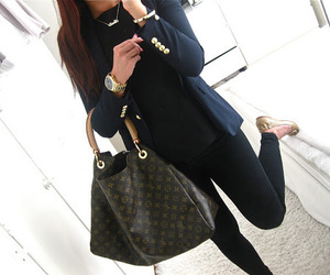 fashion, outfit, and Louis Vuitton image