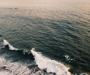 sea, waves, and indie image