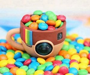 instagram, m&m, and food image