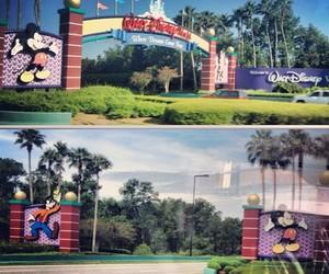 disney, goofy, and mickey image