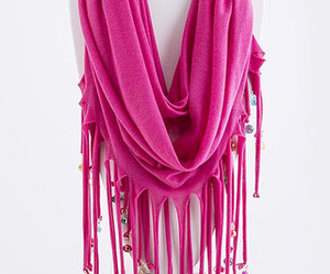 fashion, fun, and scarf image