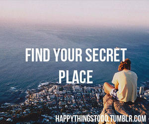 place, secret, and girl image