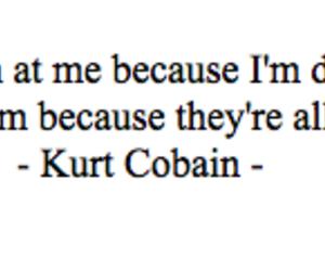 kurt cobain and quote image