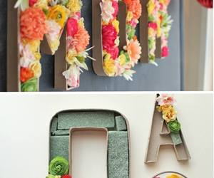 arts, flowers, and diy image