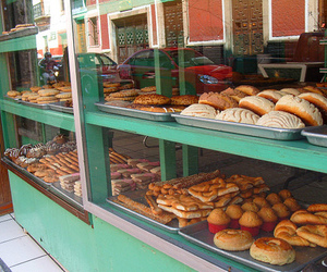 bakery, bread, and mexico image