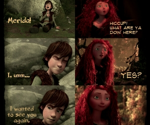 mericup hiccup merida image