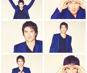 ian somerhalder, the vampire diaries, and damon salvatore image