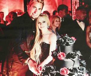 Avril Lavigne, beautiful, and wedding dress image