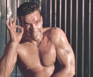 ok, jean claude van damme, and muscle image