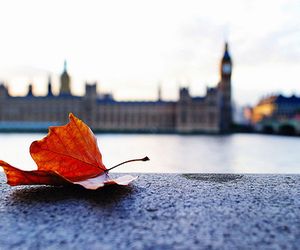 london, autumn, and city image