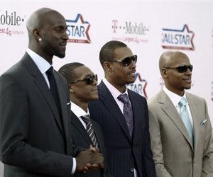 all-star, kg, and rondo image