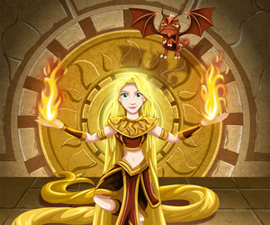 dragon, fire, and thrones image