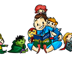 baby, the avengers, and funny image