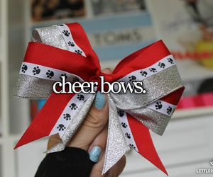 cheerleader, cheer, and cheerleading image